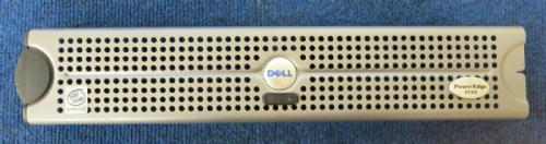 Dell 03NHR PowerEdge 2550 Metal Faceplate Bezel No Key